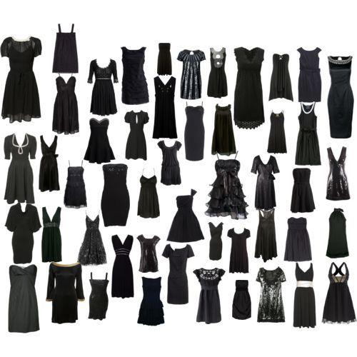 Маленькое черное платье Коко Шанель.